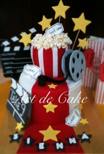 Hollywood Movie Cake