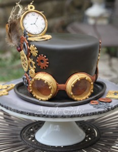 Steampunk Hat Cake