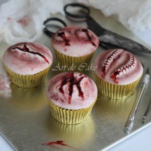 Deliciously macarbre cupcakes
