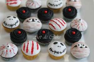 Halloween cupcakes collection